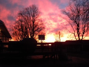 sunrise alert